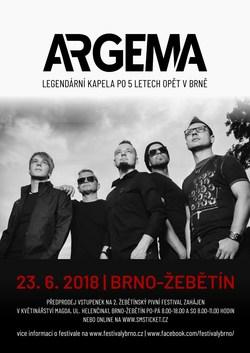 Profilový obrázek Žebětínský pivní festival s legendární kapelou Argema