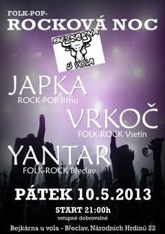 Profilový obrázek Folk-pop-ROCKOVÁ NOC na Bejkárně