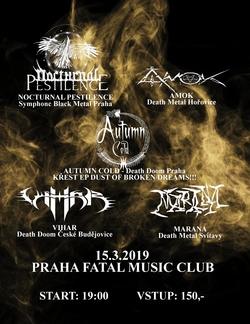 Profilový obrázek Nocturnal Pestilence / Amok / Autumn Cold / Marana / Vihar
