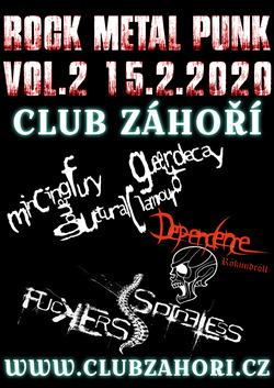 Profilový obrázek Rock - Metal - Punk Koncert Vol. 2 v Club Záhoří Prostějov