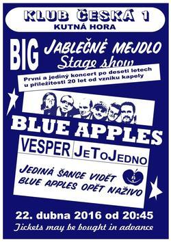Profilový obrázek BLUE APPLES | 20 let od vzniku kapely - jediný koncert