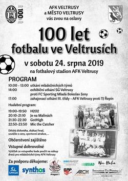 Profilový obrázek 100 let fotbalu ve Veltrusích