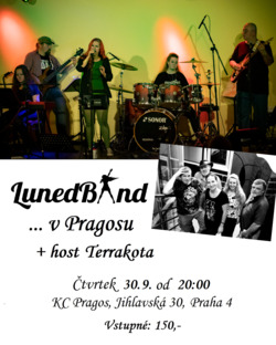 Profilový obrázek Lunedband v Pragosu + host Terrakota