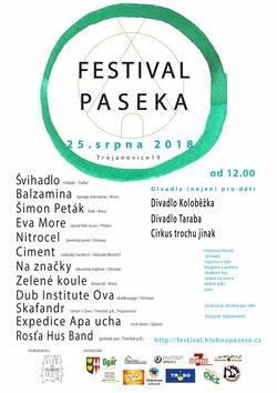 Profilový obrázek Festival Paseka 2018