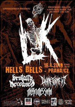 Profilový obrázek LIK (SWE) + Brutally Deceased + Anime Torment + Mean Messiah @ Hells Bells