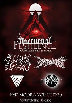 """Profilový obrázek Křest alba """"Fire & Shade"""" kapely NOCTURNAL PESTILENCE"""