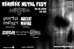 Profilový obrázek Nároďák Metal Fest - zrušeno (přesunuto na neurčito 2021)