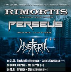 Profilový obrázek Rimortis, Perseus a Hysteria v Ostravě