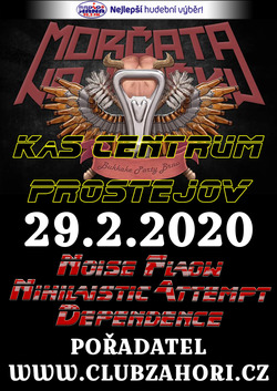 Profilový obrázek Morčata na útěku & Noise Flow & Dependence v KaSCentrum - Společenský dům Prostějov