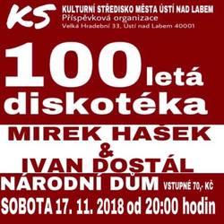 Profilový obrázek Stoletá diskotéka Haška & Dostála