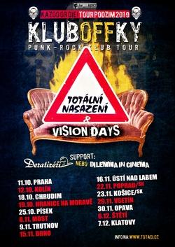 Profilový obrázek Totální nasazení, Vision Days - Kluboffky TOUR 2019