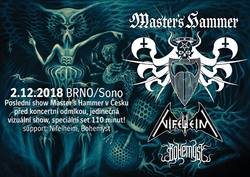 Profilový obrázek Master´s Hammer / Nifelheim / Bohemyst - Brno