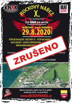 Profilový obrázek FESTIVAL ROCKOVÝ NÁŘEZ 2020 10 ročník ! + Doprovodný program s MOTO SHOW !