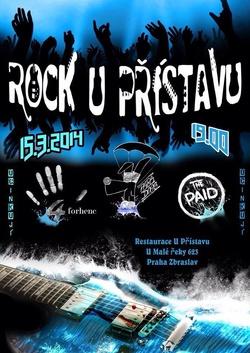 Profilový obrázek Rock U Přístavu - Paradogs, The Paid, Forhenc