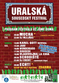 Profilový obrázek Sousedský festival UŽ JSME DOMA