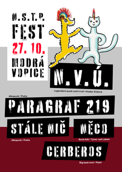 Profilový obrázek N.V.Ú. / PARAGRAF 219 a další na N.S.T.P. festu